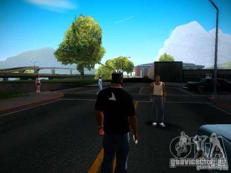 Смена персонажей для GTA San Andreas четвёртый скриншот