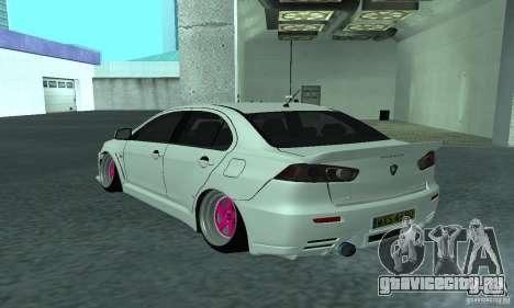 Proton Inspira Camber Edition для GTA San Andreas вид слева