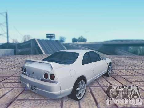 Nissan Skyline ECR33 для GTA San Andreas вид слева