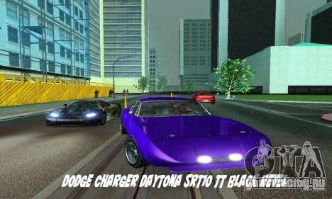 Dodge Charger Daytona SRT10 для GTA San Andreas