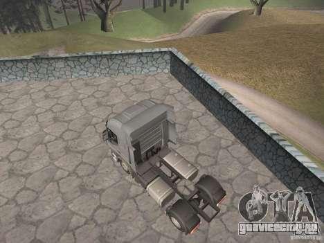 Iveco Stralis GTS для GTA San Andreas вид слева