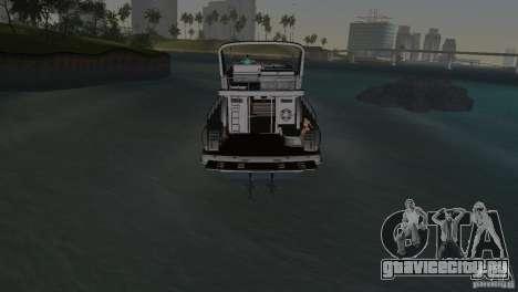 Катер для GTA Vice City вид сбоку