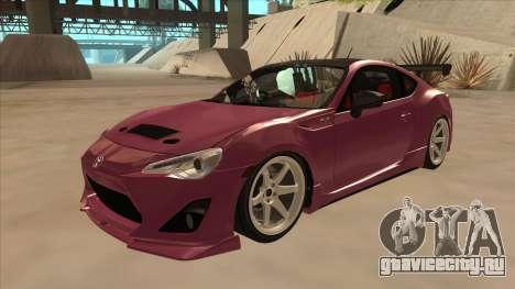 Toyota GT86 Drift 2013 для GTA San Andreas