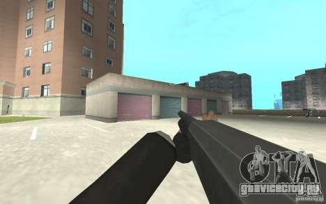 Новая анимация стрельбы  из GTA IV для GTA San Andreas девятый скриншот