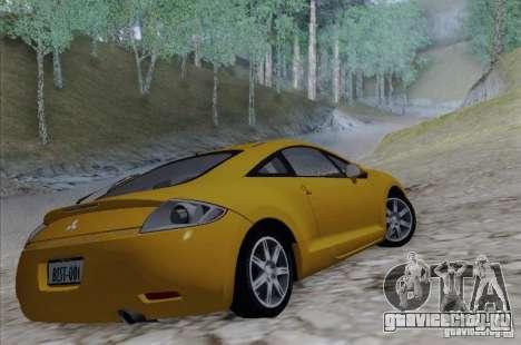 Mitsubishi Eclipse GT V6 для GTA San Andreas вид слева
