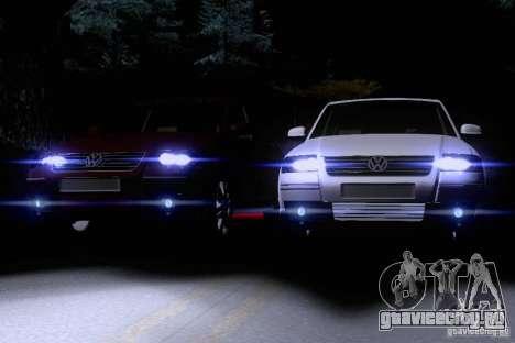 Volkswagen Passat B5 для GTA San Andreas салон