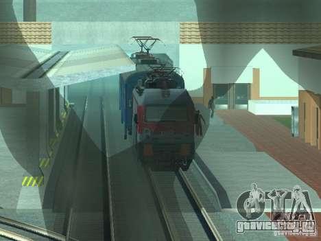 ЭП1М-700 РЖД для GTA San Andreas вид справа