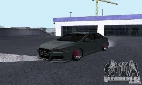Proton Inspira Camber Edition для GTA San Andreas вид сзади слева