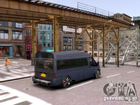 Ford Transit Sport Edition RV 2013 для GTA 4 вид сбоку