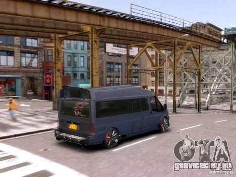 Ford Transit Sport Edition RV 2013 для GTA 4 вид сбоку