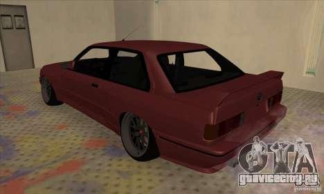 BMW M3 E30 1990 для GTA San Andreas вид слева