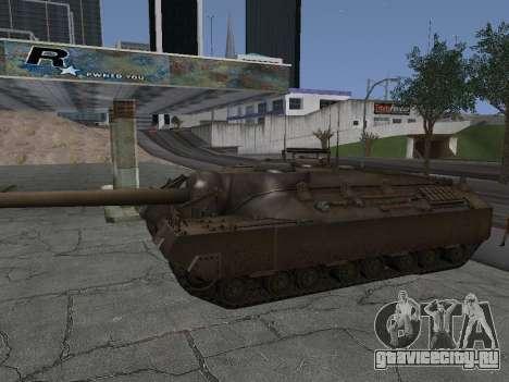 ПТ-САУ T95 для GTA San Andreas вид сзади