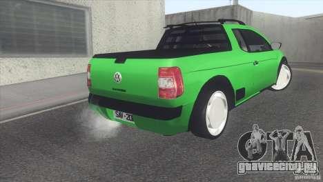 Volkswagen Saveiro 2013 для GTA San Andreas вид справа
