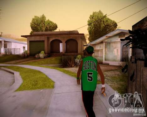 Skins pack gang Grove для GTA San Andreas второй скриншот