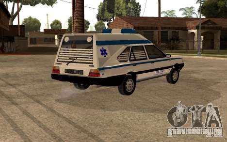 FSO Polonez Cargo MR94 Ambulance для GTA San Andreas вид справа