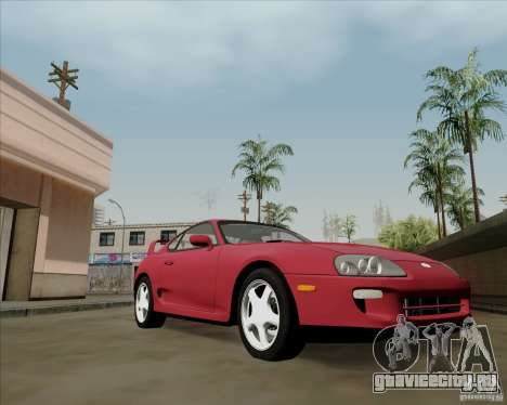 Toyota Supra RZ 98 Twin Turbo для GTA San Andreas вид слева