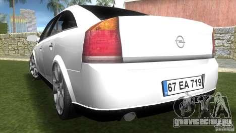 Opel Vectra для GTA Vice City вид слева