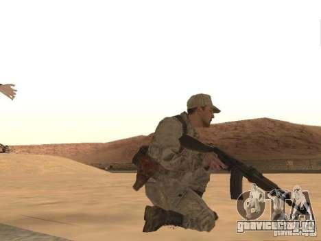 Скин Советского Солдата для GTA San Andreas четвёртый скриншот