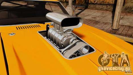Dodge Charger RT 1970 для GTA 4 вид справа