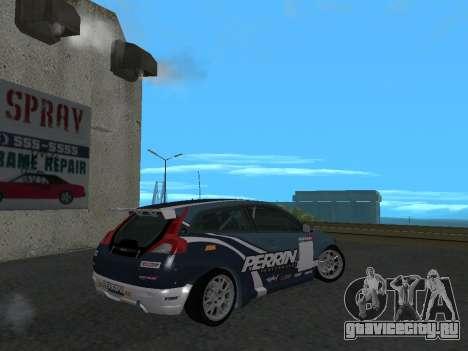 Volvo C30 Race для GTA San Andreas вид слева