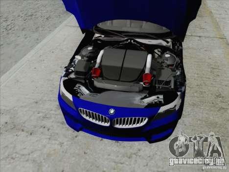BMW Z4 2011 для GTA San Andreas вид сзади