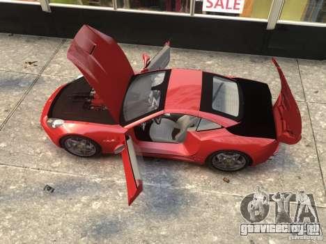 Ferrari California 2009 для GTA 4 вид сзади слева