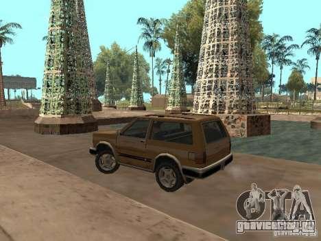 Новый Landstalker для GTA San Andreas вид сзади слева