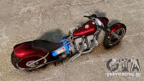 Dragbike Street Racer для GTA 4 вид справа