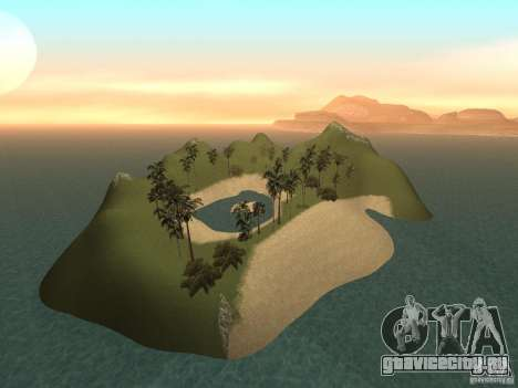 Volcano для GTA San Andreas