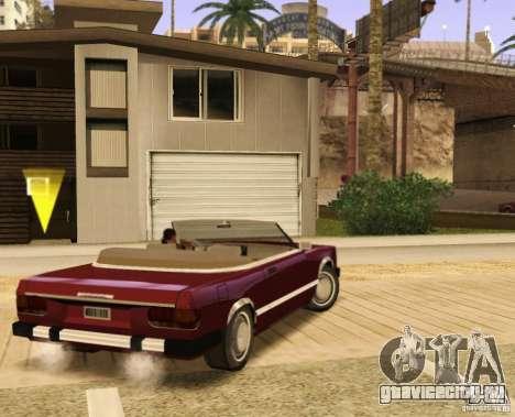 Feltzer HD v2 для GTA San Andreas вид слева