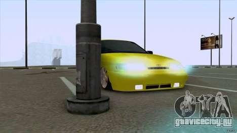 ВАЗ 2110 Жёлтый песок для GTA San Andreas вид сзади слева