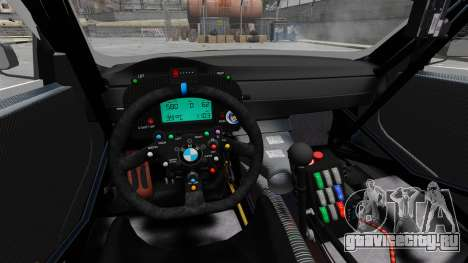 BMW M3 (E90) 2008 Monster Energy v1.2 для GTA 4 вид сзади