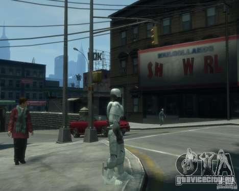 Скин Робокопа для GTA 4 второй скриншот