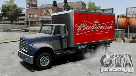 Новая реклама для грузовика Yankee для GTA 4 вид сзади слева