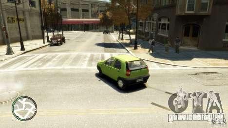 Fiat Palio для GTA 4 вид слева