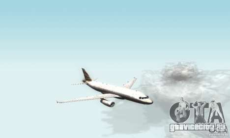 Airbus A319 British Airways Olympic Dove для GTA San Andreas