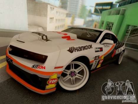 Chevrolet Camaro Hankook Tire для GTA San Andreas
