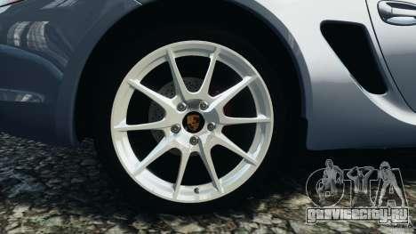 Porsche Cayman R 2012 для GTA 4 вид сбоку