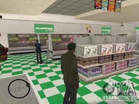 Новые текстуры забегаловок для GTA San Andreas третий скриншот