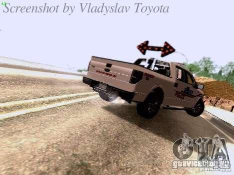 Ford F-150 Road Sheriff для GTA San Andreas вид справа