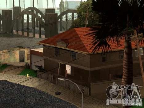 Новый Grove Street для GTA San Andreas третий скриншот