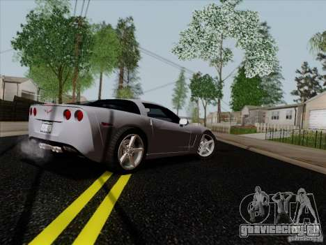 Chevrolet Corvette Z51 для GTA San Andreas вид справа