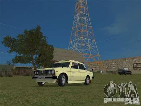 ВАЗ 2106 Sparco Tuning для GTA Vice City вид справа