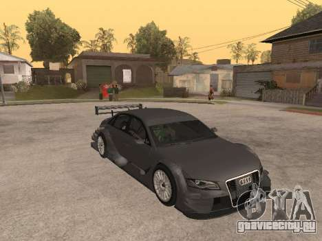 Audi A4 Touring для GTA San Andreas вид изнутри