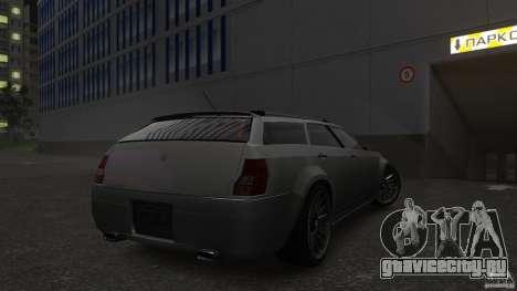 PMP600 Sport Wagon для GTA 4 вид сзади
