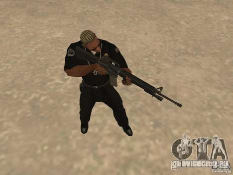 M4A1 from Left 4 Dead 2 для GTA San Andreas пятый скриншот
