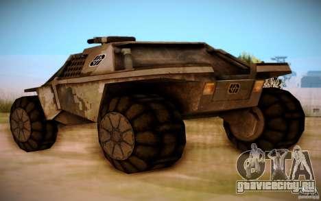 MK-15 Bandit для GTA San Andreas вид сзади слева