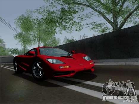McLaren F1 1994 v1.0.0 для GTA San Andreas вид слева