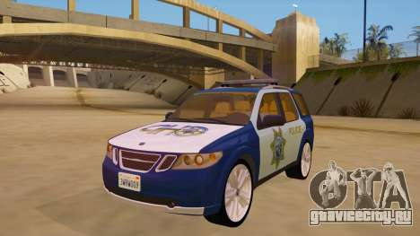 Saab 9-7X Police для GTA San Andreas