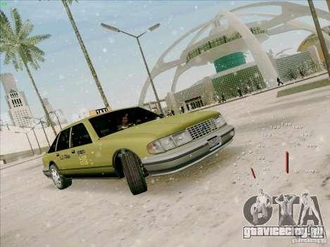 HD Taxi SA из GTA 3 для GTA San Andreas вид слева